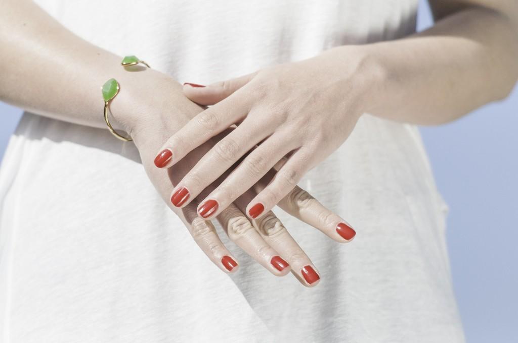 manicure hybrydowy na mokotowie